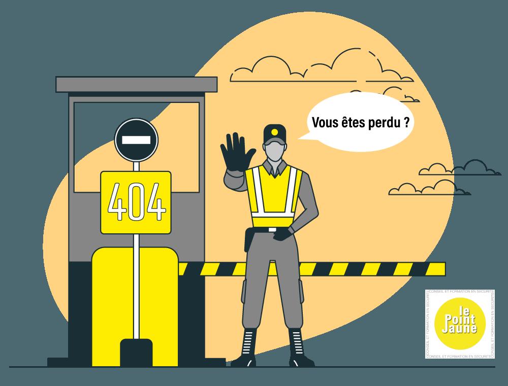 Agent de sécurité page 404
