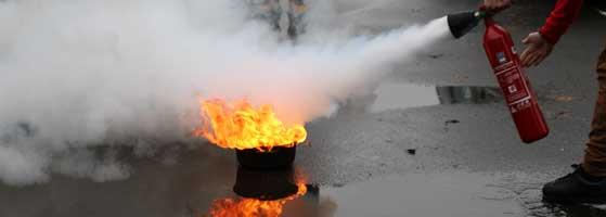 SSIAP 1 bac à feu