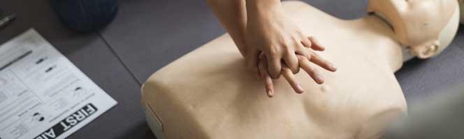 SST massage cardiaque