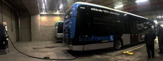 Bus électrique Personnel Averti
